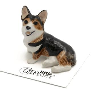Cardigan Corgi Porcelain Figurine
