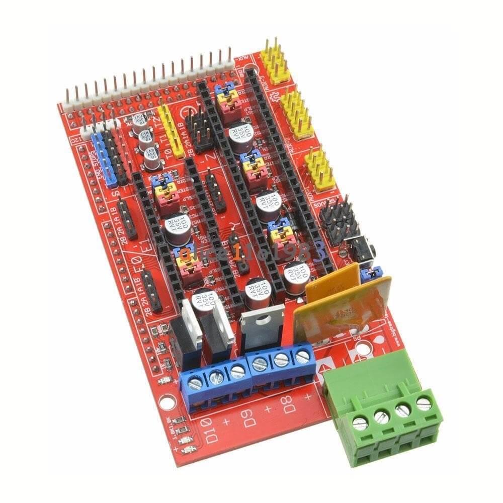 Tarjeta Ramps 14 Controladora Para Impresora 3d Shield Threed