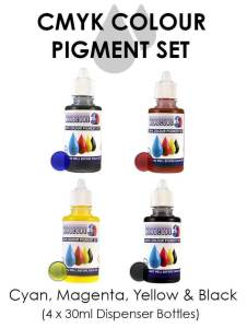 kit de colorantes resina monocure
