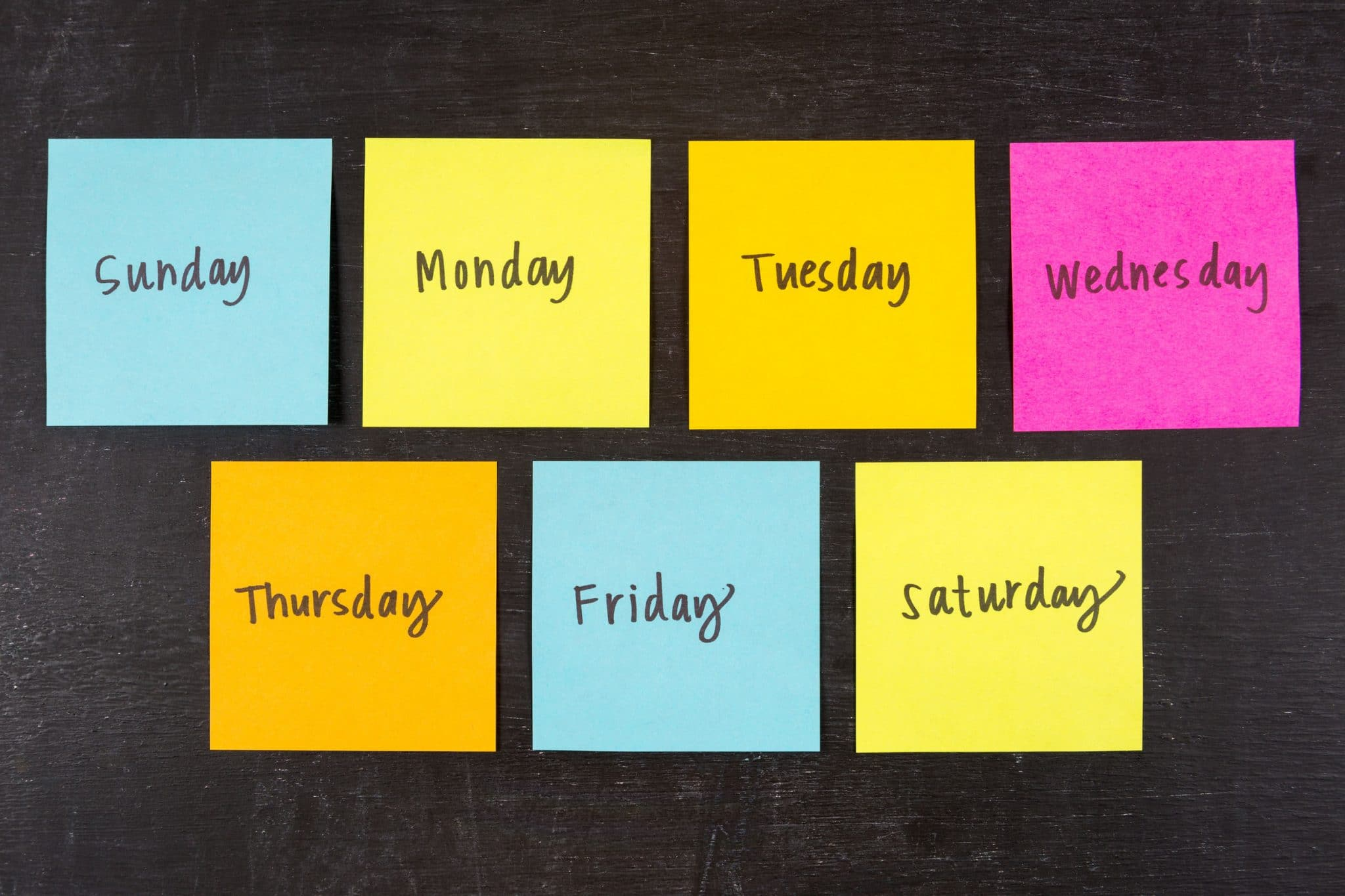 Social Media Trends For Every Day Of The Week