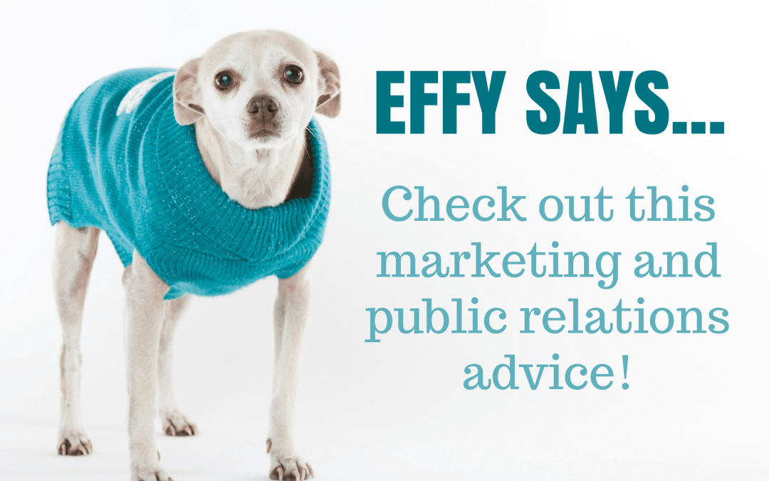 Effy Says… Flattery Will Get You Everywhere