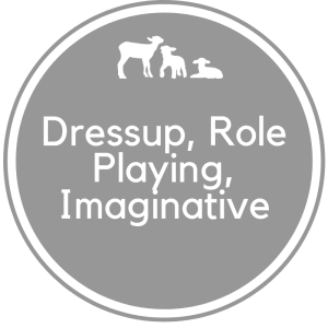Dressup, Role Play & Imagination