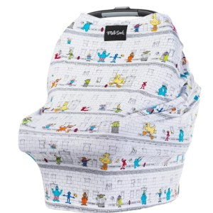 Multifunctional Carseat Cover