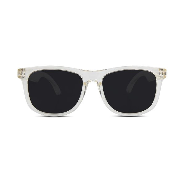 Hipsterkid Extra Fancy Wayfarers Baby Sunglasses - Clear