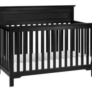 Autumn 4-in-1 Convertible Crib - Ebony