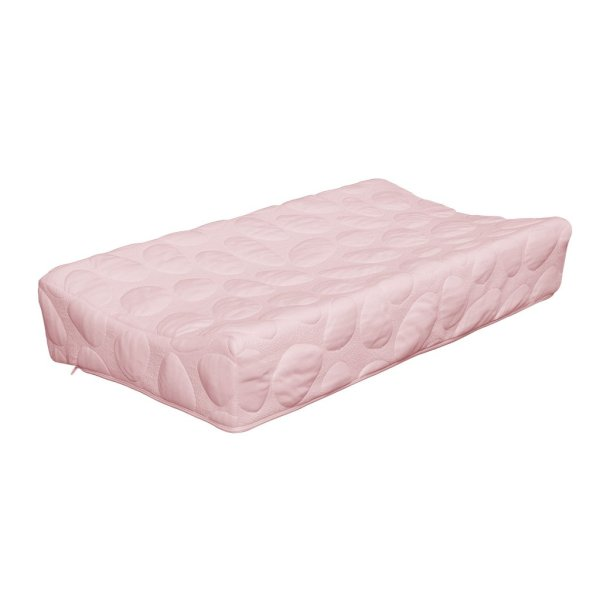 Pebble Changing Pad Cover - Blush