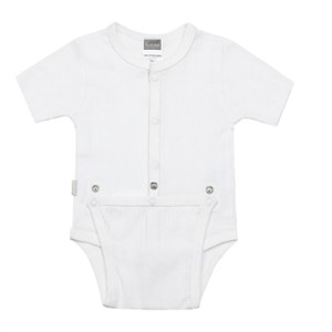 Classics Diaper Shirt - White