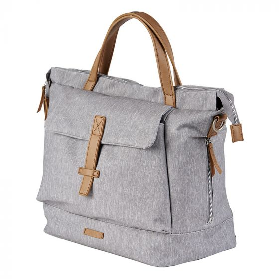 ERIN Backpack Diaper Bag - Grey Marl