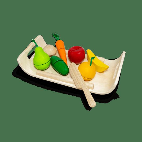 Plan Toys Assorted Fruit & Vegetable