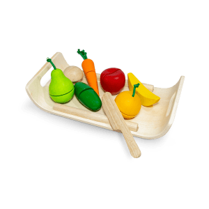 Plan Toys Assorted Fruit & Vegetable