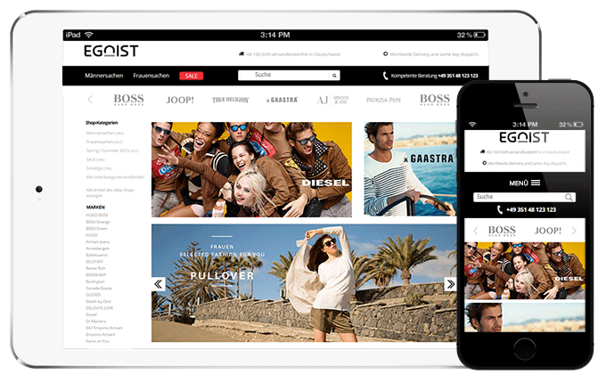 ebay store shop design â mobile amp 2017 friendly â free editor