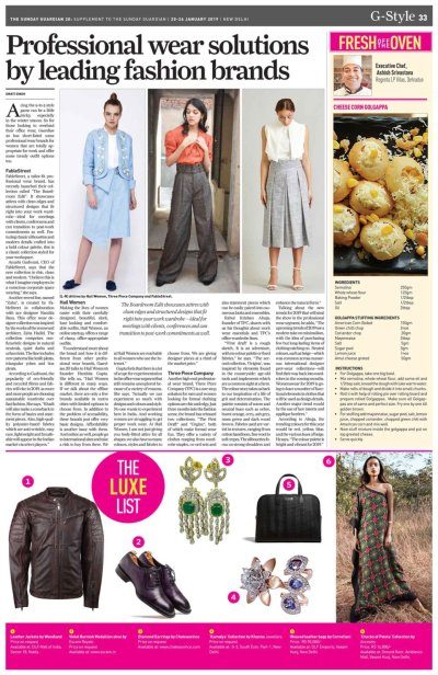 The Sunday Guardian, January 20 - Supplement Page 13