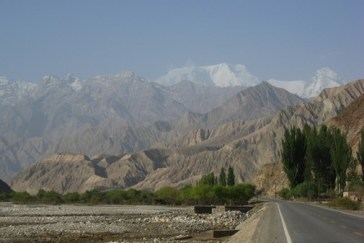 "Karakoram Highway ""This might have been the most beautiful drive either of us had ever made."""