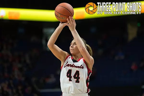 2019 KHSAA Girls' Sweet 16®, Ryle vs George Rogers Clark, March 15, 2019, Lexington, Kentucky, USA. Photo by Walter Cornett / Three Point Shots / KHSAA.