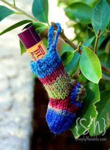 Simply Notable's Balm Sock