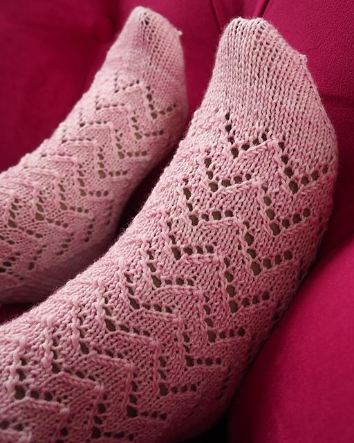 Leveche socks, Corrine Walcher