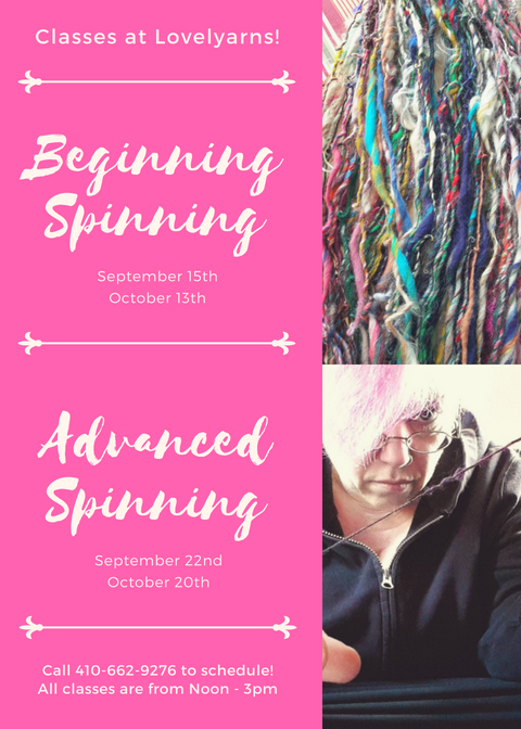 Spinning Classes for Fall 2018