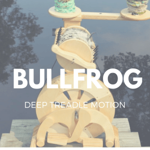 bullfrog spinning wheel