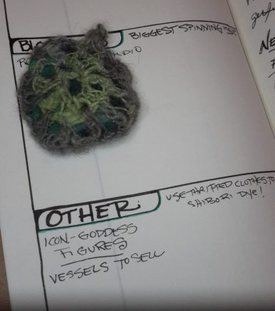 crocheted stone and plans