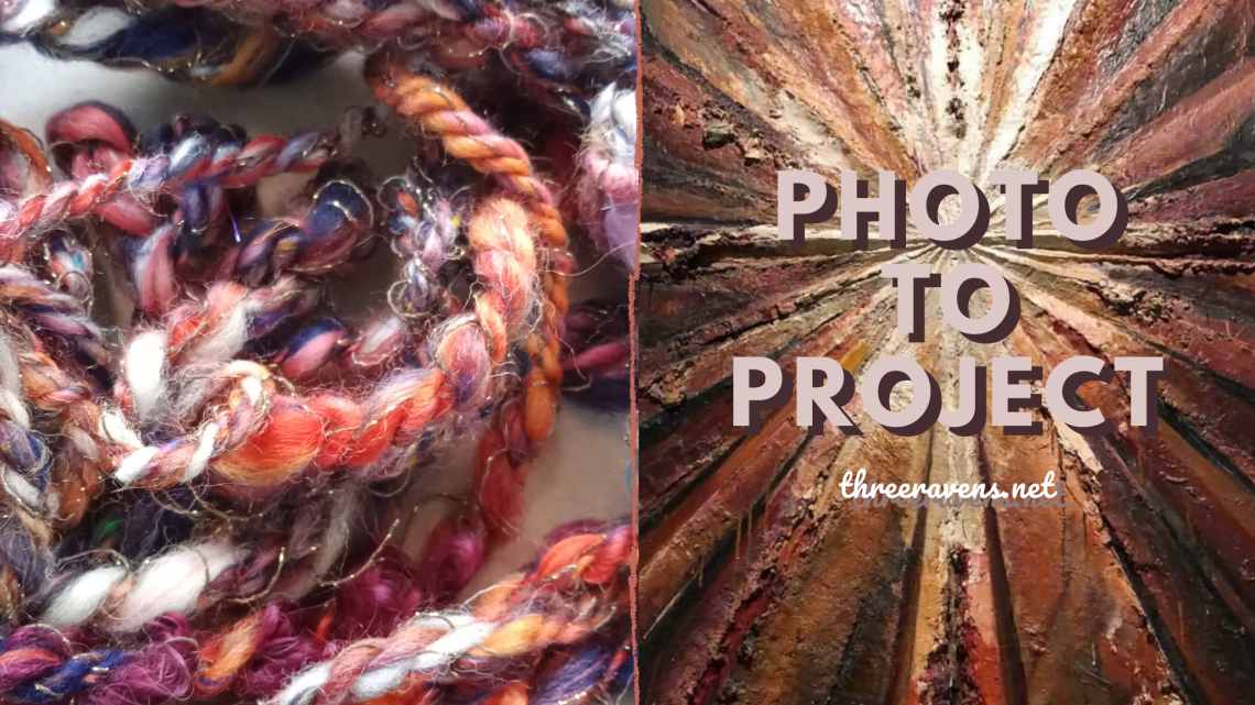 photo to project: creating a yarn from a photo inspiration