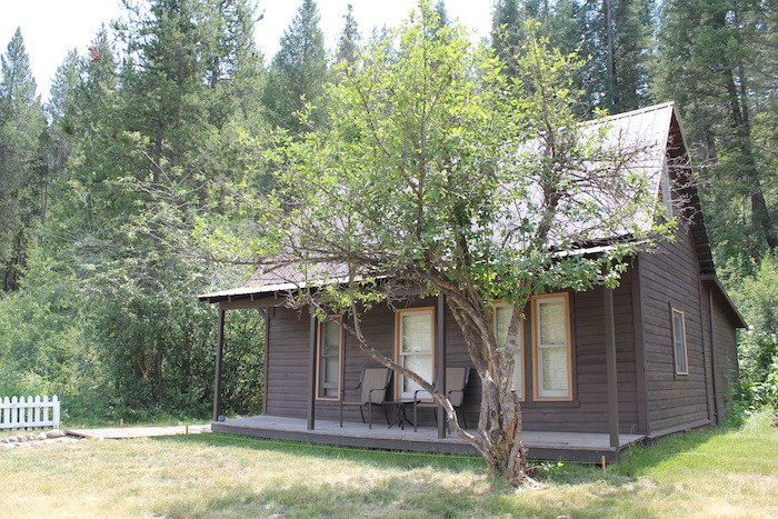 A fully restored early 20th century cabin