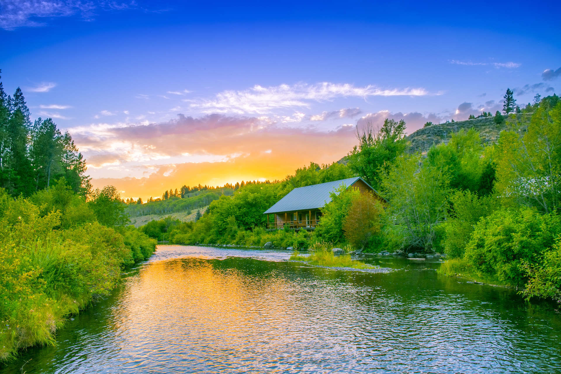Best Fly Fishing Lodge Three Rivers Ranch in Idaho