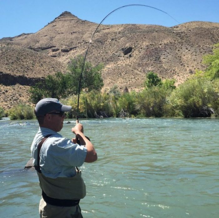 Fly Fishing the Owyhee River