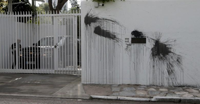 Επίθεση στο σπίτι του Αμερικανού Πρέσβη πραγματοποιησε ο Ρουβίκωνας