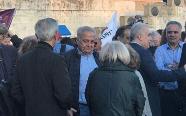 Σε προεκλογική συγκέντρωση του Α. Τσίπρα ο αρχηγός της ΕΛ.ΑΣ. - Κινδυνεύει με ΕΔΕ