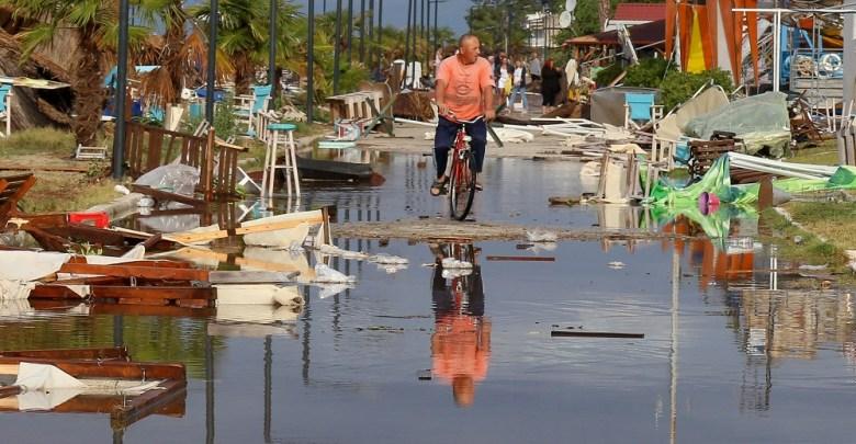 Μετράει τις πληγές της η Χαλκιδική μετά τη φονική καταιγίδα