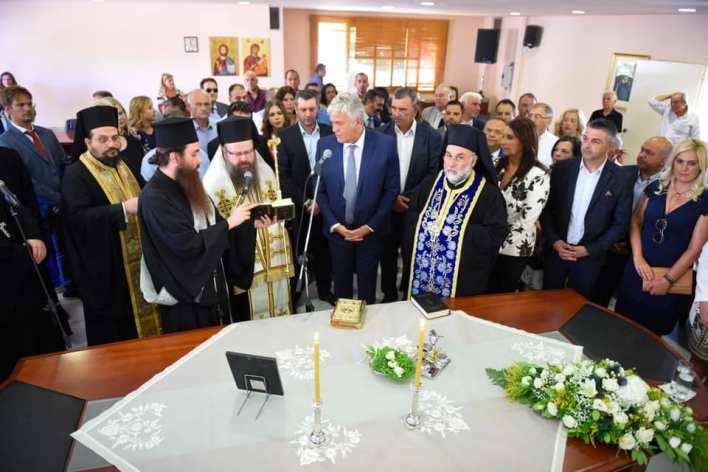 Ορκίστηκε δήμαρχος Μάνδρας ο Χρήστος Στάθης