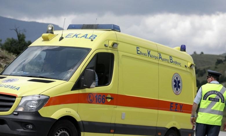Σχιστό: Νεκρός αναβάτης μηχανής που συγκρούστηκε με λεωφορείο