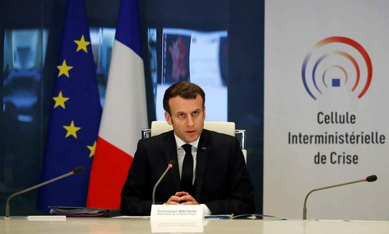 Μακρόν: «Η Γαλλία βρίσκεται μόνο στην αρχή της κρίσης»
