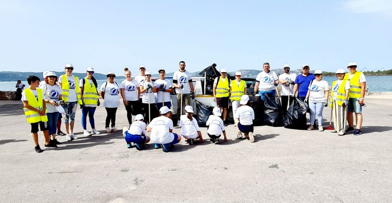 Πρωτοβουλία καθαρισμού στην παραλία Ασπροπύργου