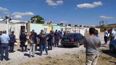 Μεγάλη επιχείρηση της δίωξης ναρκωτικών στην Δομή Μεταναστών Θήβας