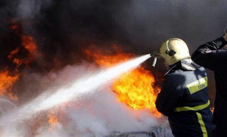 Παρανάλωμα του πυρός αυτοκίνητο στον Ασπρόπυργο