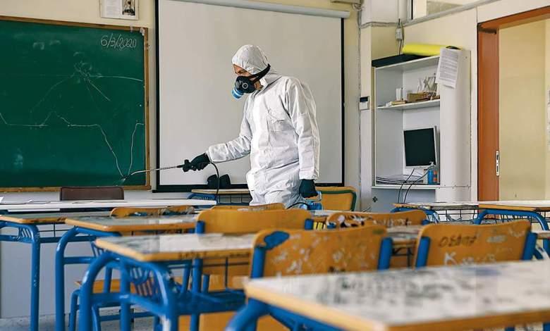 Κρούσμα κορωνοϊού στο Γυμνάσιο Μάνδρας