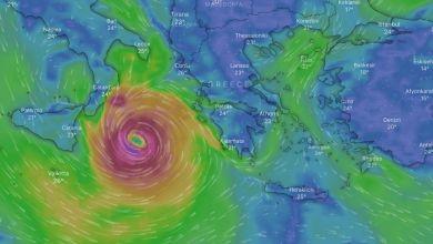 Photo of Κακοκαιρία «Ιανός» : Πού και πότε θα χτυπήσει ο μεσογειακός κυκλώνας