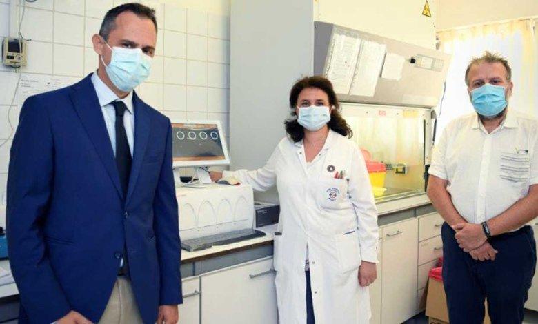 ΕΛΠΕ: Νέα Δωρεά 3.000 τεστ και συστήματος διάγνωσης COVID-19 στο «Θριάσιο»