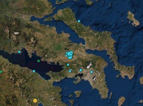 Δεκάδες σεισμοί στη Θήβα - Καθησυχάζουν οι σεισμολόγοι