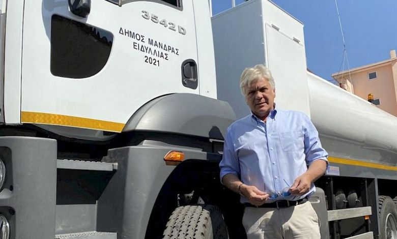 Ο Δήμος Μάνδρας-Ειδυλλίας ενισχύει τον μηχανοκίνητο στόλο του