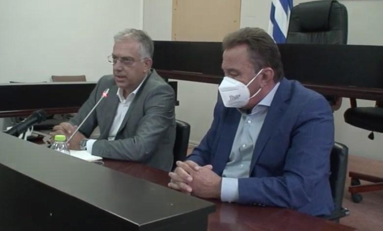 Επίσκεψη του Υπουργού Προστασίας του Πολίτη στον δήμο Ασπροπύργου [Βιντεο]