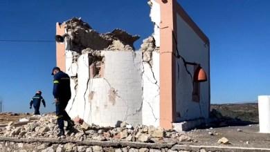 Κρήτη: Σοκαριστικές φωτογραφίες και βίντεο από το χτύπημα του Εγκέλαδου