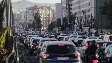 Κυκλοφοριακό κομφούζιο στην Αθήνα – Πού εντοπίζονται προβλήματα