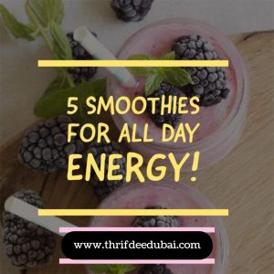 Smoothie Energy Thrifty Natural