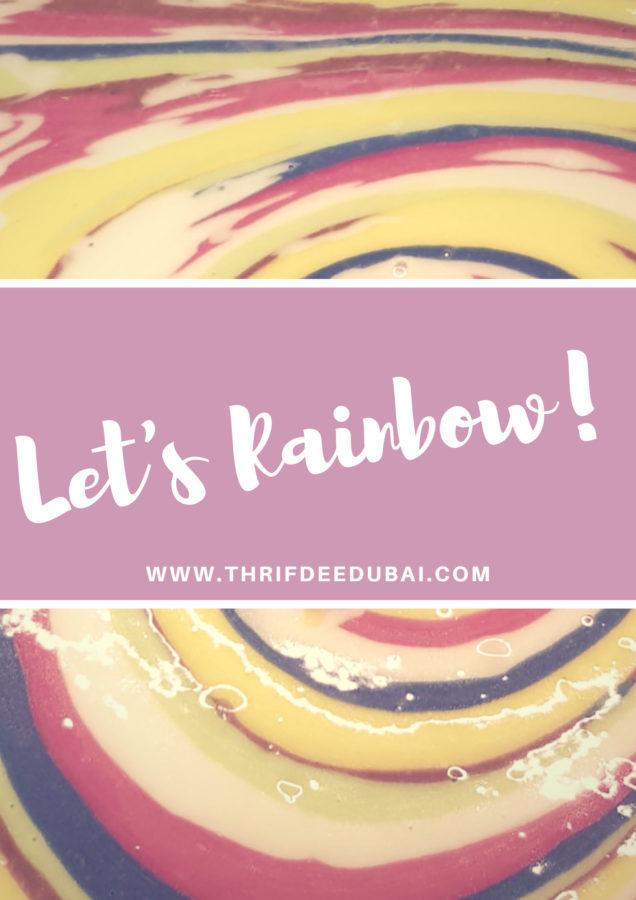 Lets Rainbow Cake Recipe Kid Friendly Activitiy