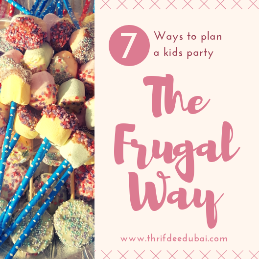 7 Ways To Plan A Kids Party The Frugal Way Money Saving Lifestyle Hacks