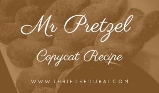 Mr Pretzels – Copycat Recipe