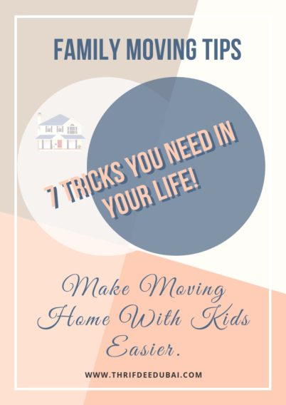Family Moving Tips Tricks Moving Home With Kids Children Lifestyle