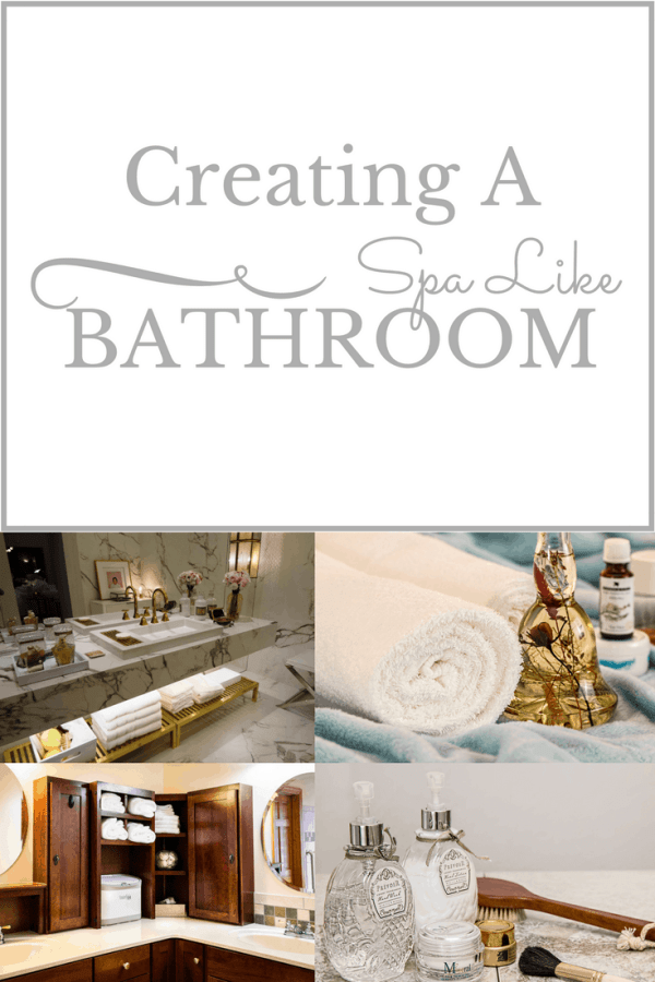 Ways to Create a Spa Like Bathroom | Thrifted & Taylor'd | www.thriftedandtaylord.com